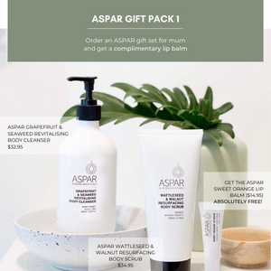 ASPAR Care Pack - free lip balm