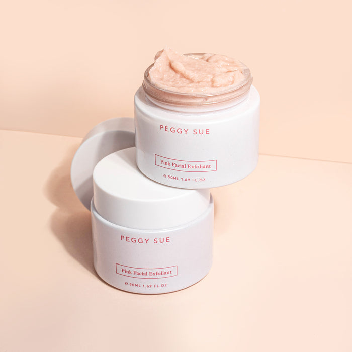 Peggy Sue Pink Facial Exfoliant