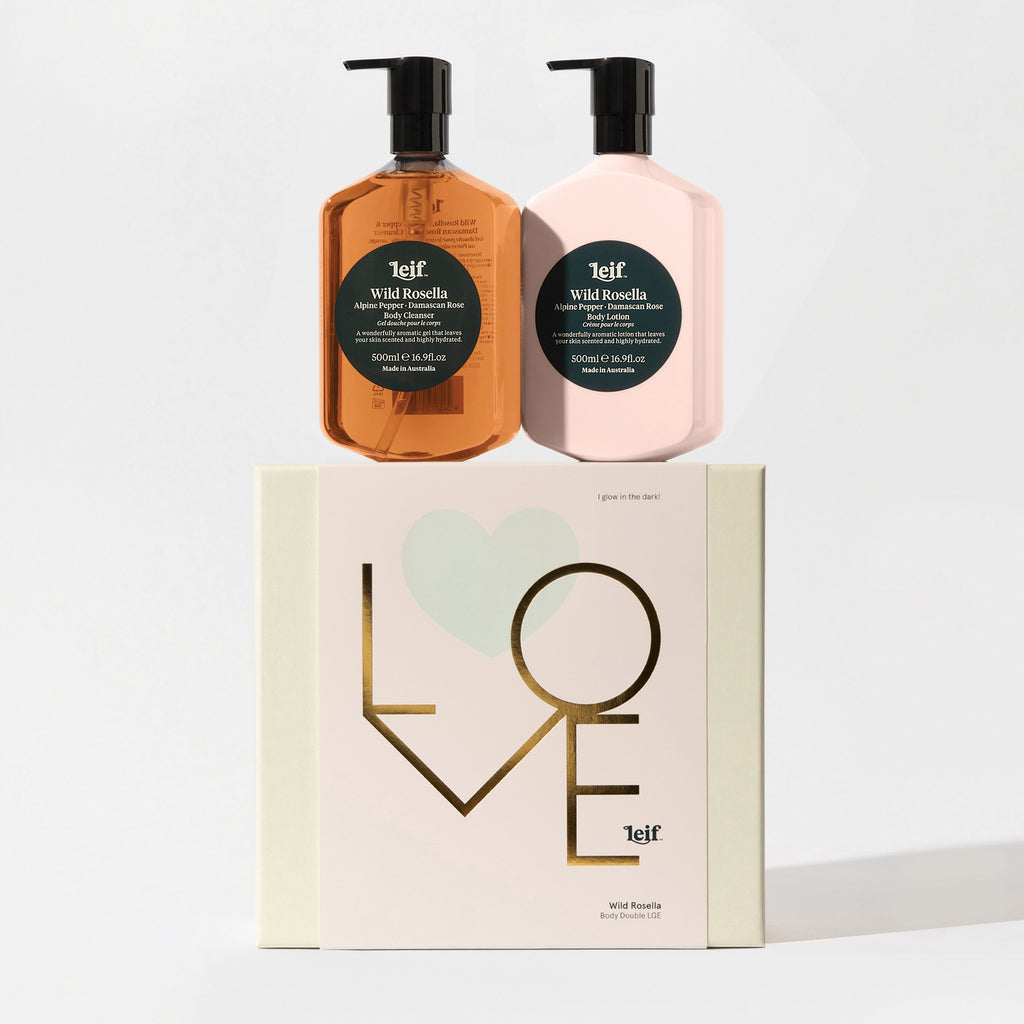 Leif Limited Edition LOVE Body Double – Wild Rosella 500ml