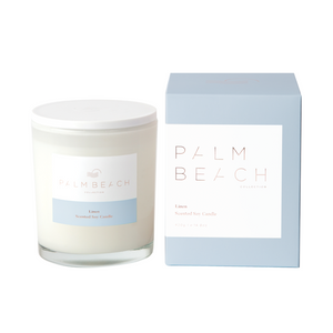 Palm Beach Collection Linen Candle