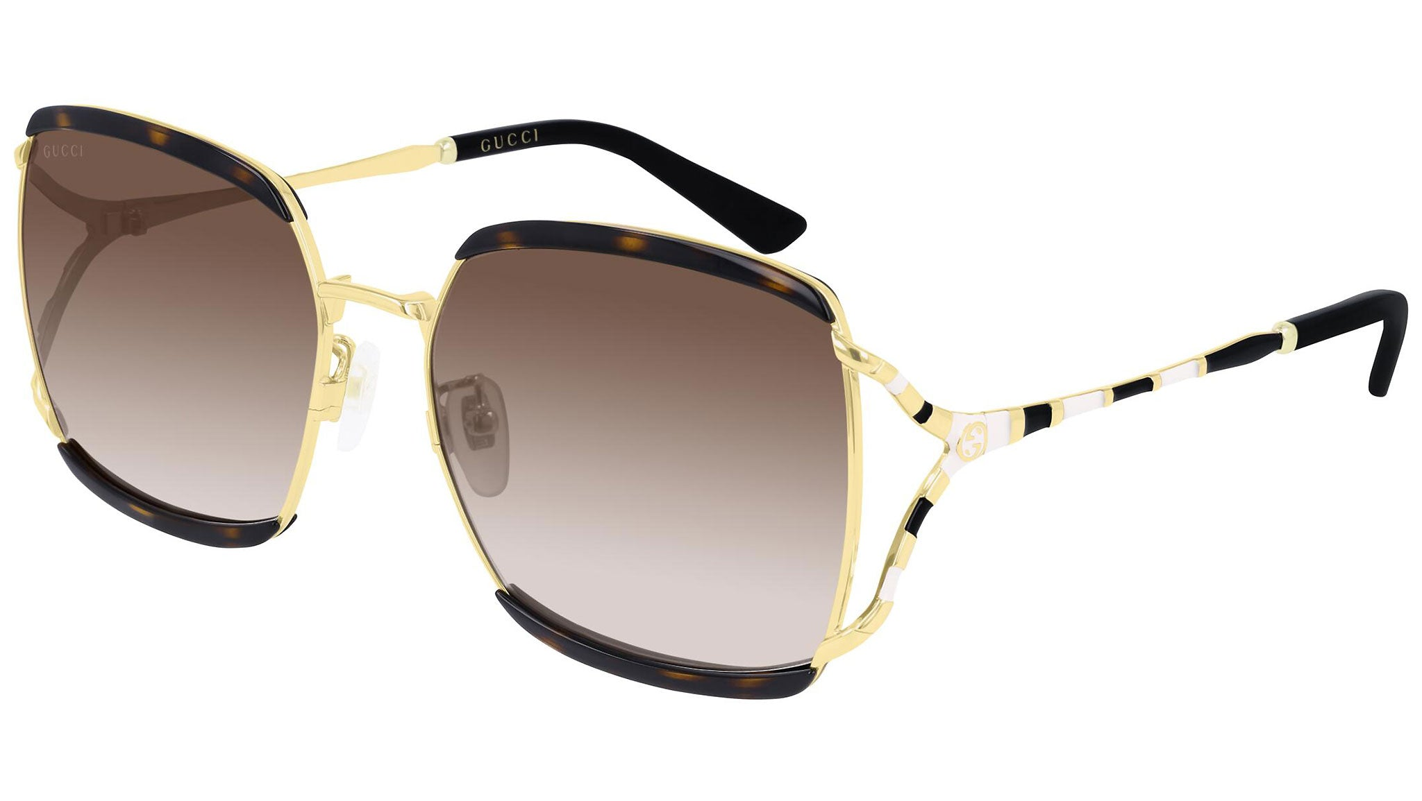 GG0593SK gold havana and brown