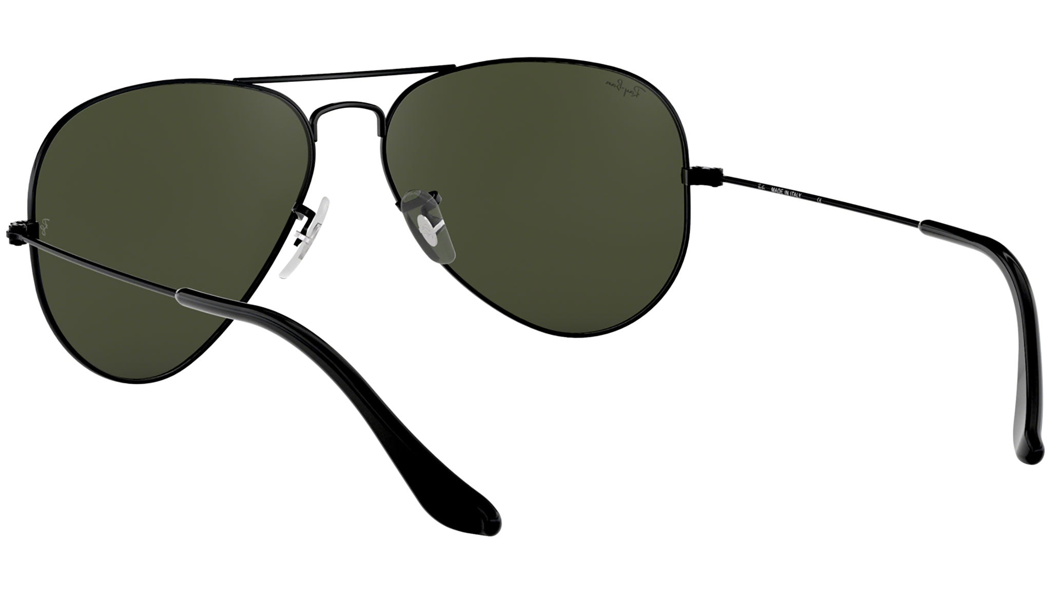Aviator Classic RB3025 polished black