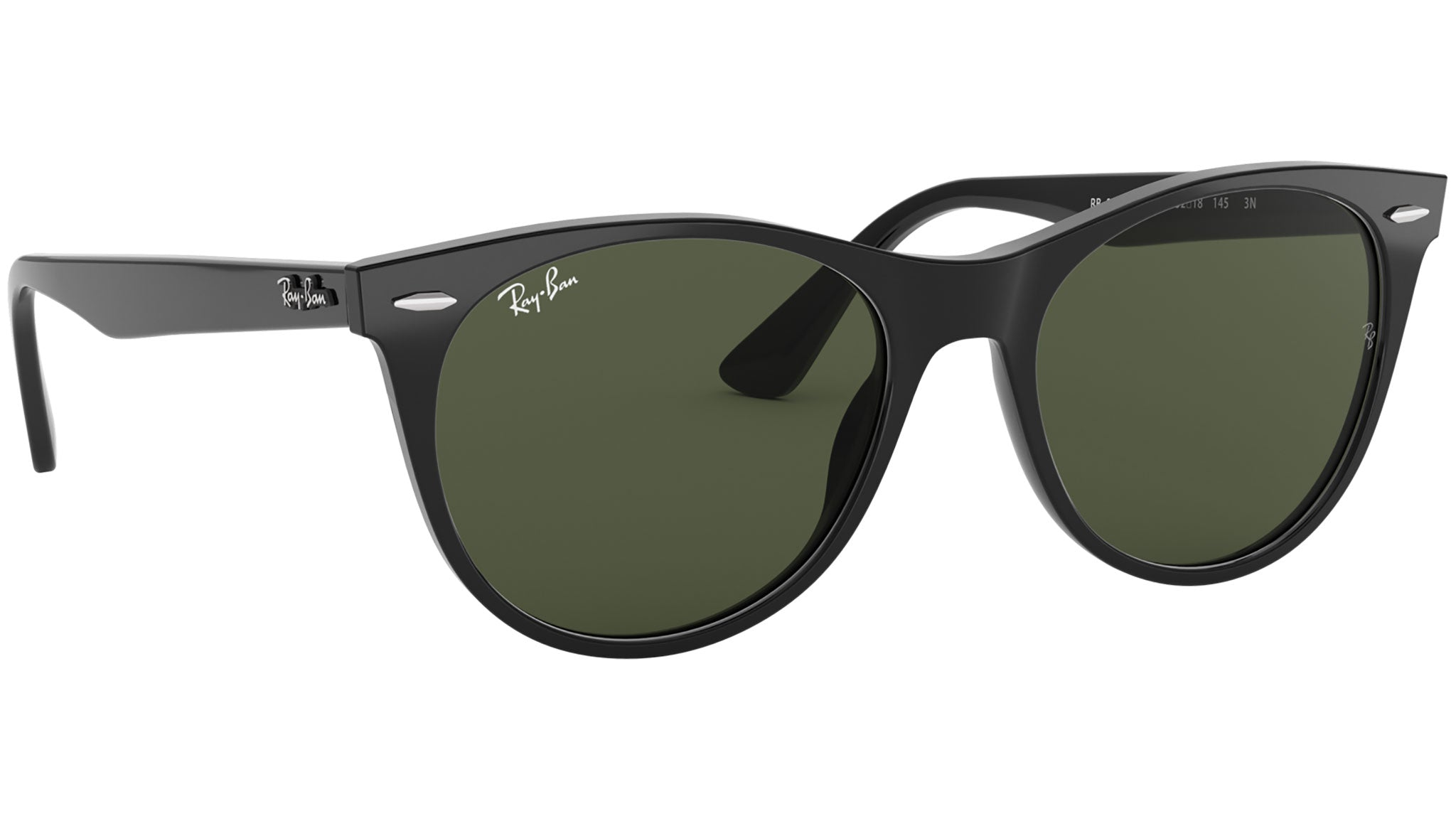 Wayfarer II Classic RB2185 black and green