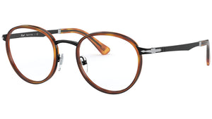 PO2468V black and havana