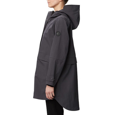 Soft Shell Hooded Rain Coat