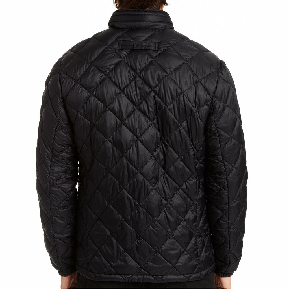 Nylon Thermoluxe Filled Diamond Quilted Jacket