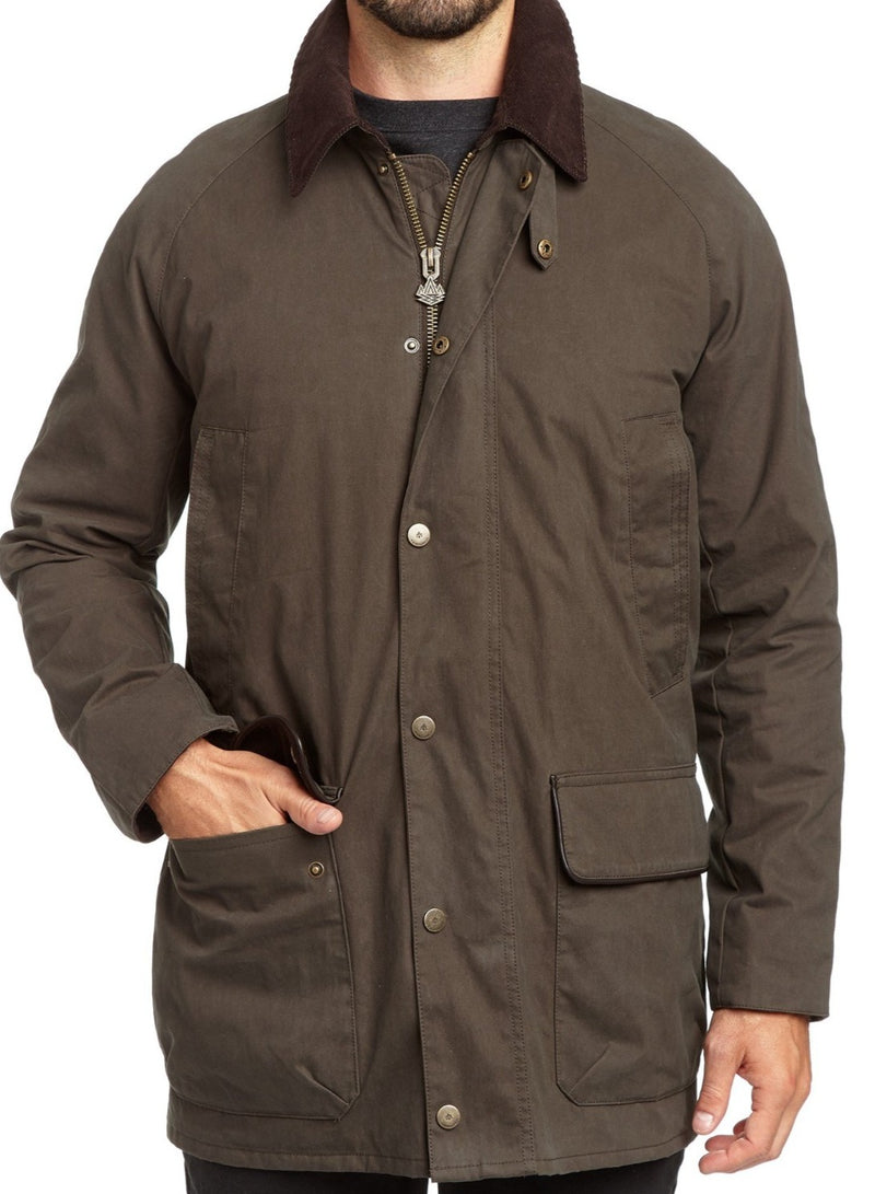Coated Cotton All Weather Voyager Jacket