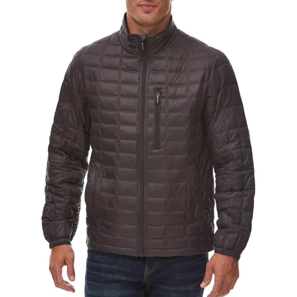 Nylon Thermoluxe Filled Quilted Jacket