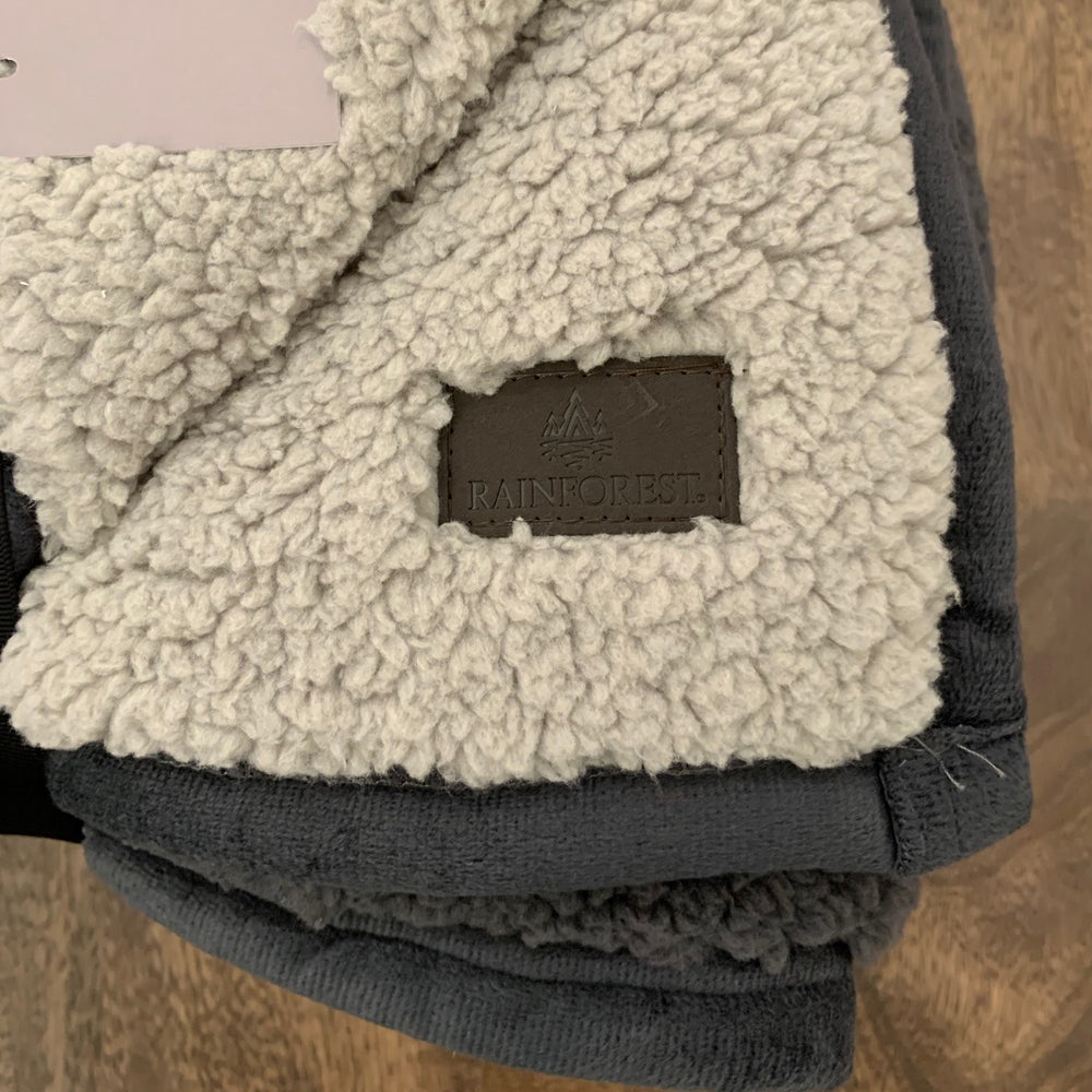 Double Sided Sherpa Throw