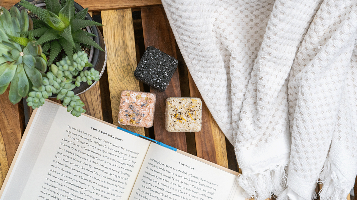 Bath Salt Made Easy with Pacha Soap Co. Salt Blocks
