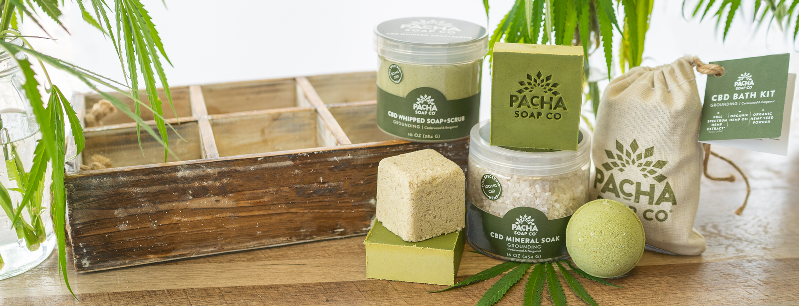Pacha Soap Co  - Natural Bath Products that change lives