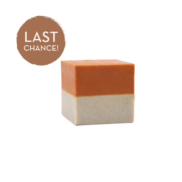 Citrus Burst Scrub + Suds Exfoliating Block