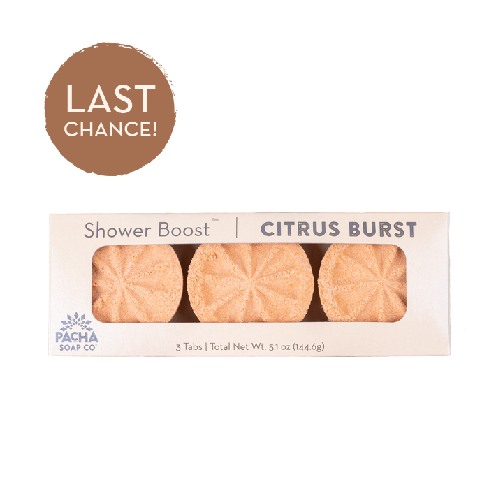 Citrus Burst Shower Boosts 3 Pack