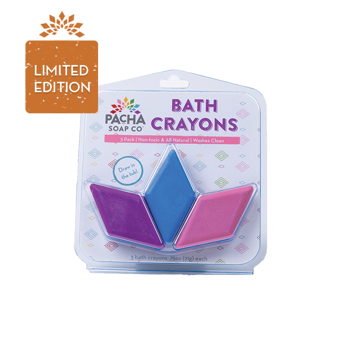 Bath Crayons - Cool Colors - 3 Pack