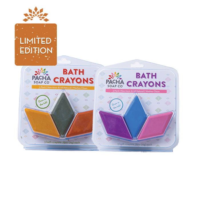 Clean N Crafty Kid's Bath Crayon Set