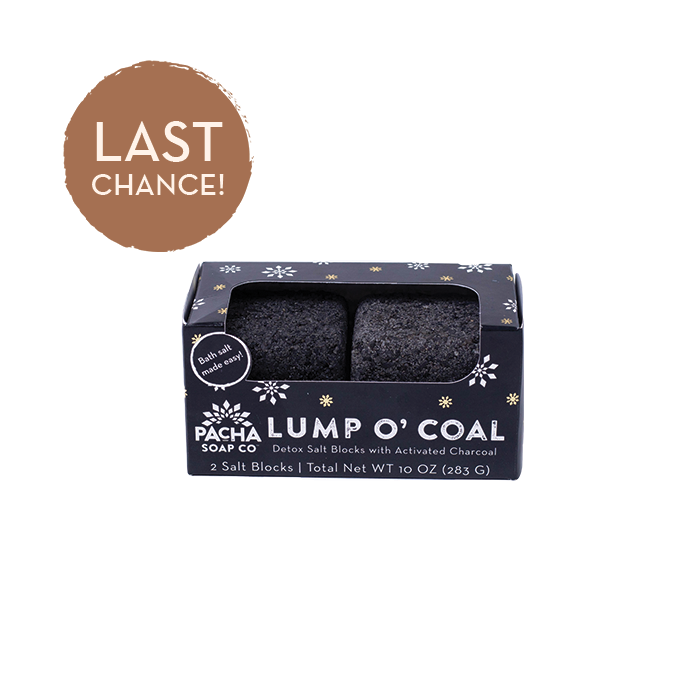 Lump O' Coal Salt Block Set (2 Pack)