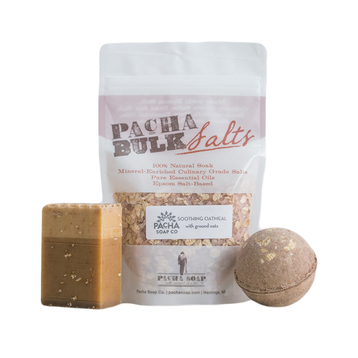 Bath Set – Oatmeal