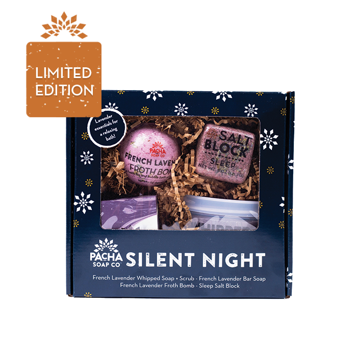 Silent Night Lavender Gift Set
