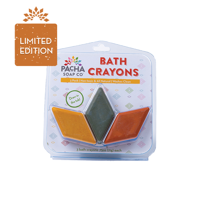 Bath Crayons - Warm Colors - 3 Pack