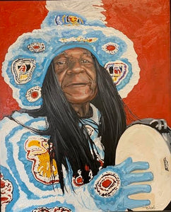 Big Chief Monk Boudreaux - Print
