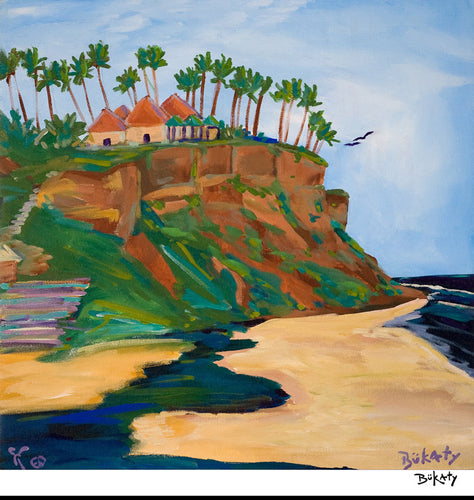 Cliffs of Beauty - Print by Artist John Bukaty