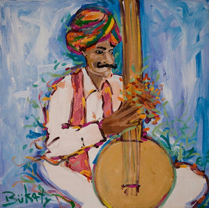 Music Man - Print by Artist John Bukaty