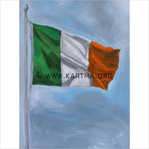 Irish Flag by Artist John Bukaty