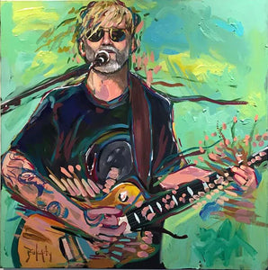 Anders Osborne - an Original Painting by John Bukaty