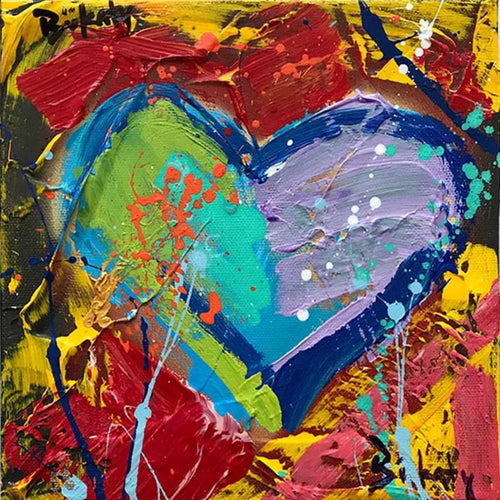 Love Painting - and Original by Artist John Bukaty