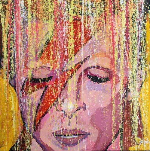 Ziggy - Original Painting by Artist John Bukaty