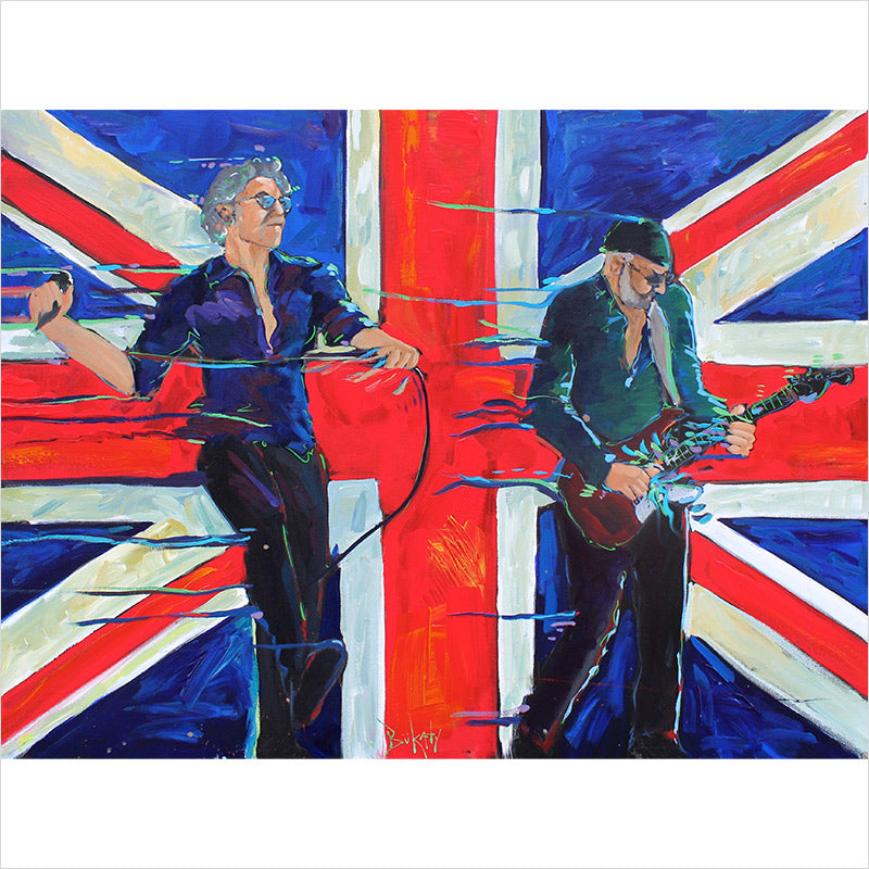 The Who - Print by Artist John Bukaty