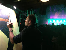 Load image into Gallery viewer, John Bukaty painting Trombone Shorty Live