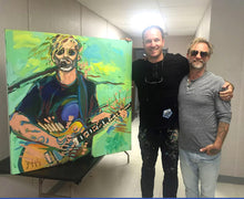 Load image into Gallery viewer, John Bukaty with singer Anders Osborne