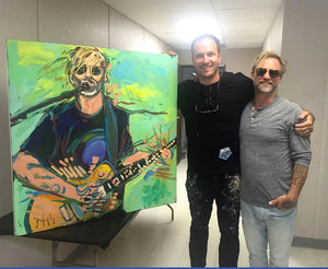 John Bukaty with singer Anders Osborne