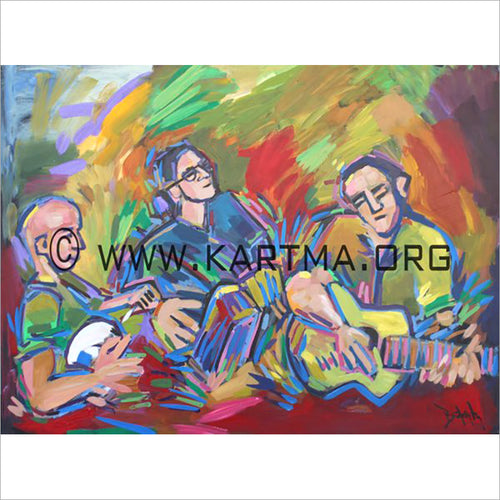 Irish Trio - print by Artist John Bukaty