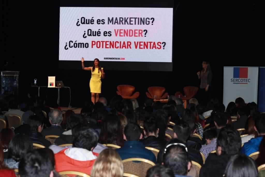 Seminario Del Marketing Tradicional al Digital, Punta Arenas, Chile. 2018.