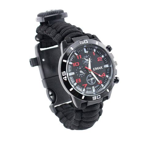 16 in 1 Multi-functional Paracord Survival Watch