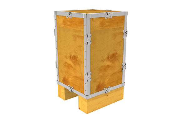 Simple-Lock™ Crate - With Runner - 11 1/8 x 11 1/8 x 17 1/8