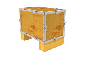 Simple-Lock™ Crate - With Runner - 17 1/8 x 11 1/8 x 11 1/8