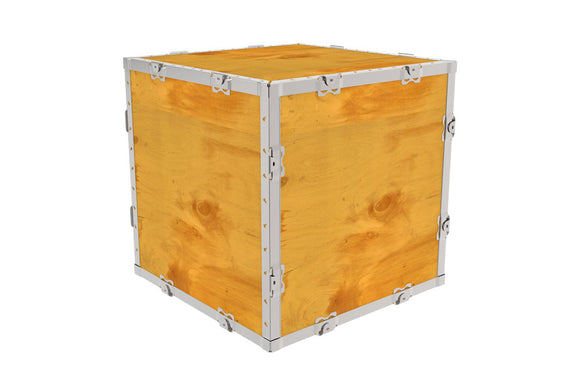 Simple-Lock™ Crate - No Pallet - 17 1/8 x 17 1/8 x 17 1/8