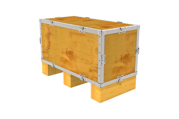 Simple-Lock™ Crate - With Runner - 23 1/8 x 11 1/8 x 11 1/8