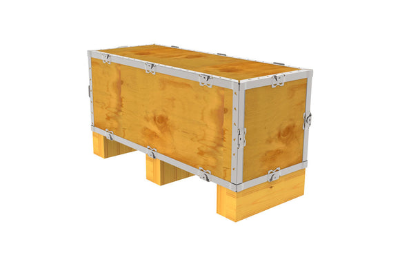 Simple-Lock™ Crate - With Runner - 29 1/8 x 11 1/8 x 11 1/8
