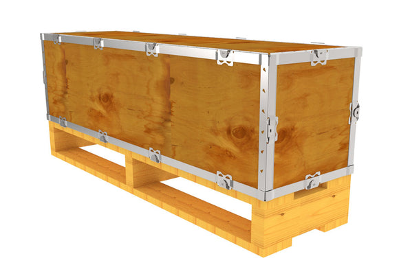 Simple-Lock™ Crate - With Pallet - 41 1/8 x 11 1/8 x 11 1/8