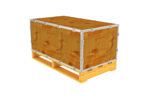 Simple-Lock™ Crate - With Pallet - 41 1/8 x 23 1/8 x 17 1/8