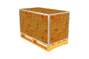 Simple-Lock™ Crate - With Pallet - 41 1/8 x 23 1/8 x 23 1/8