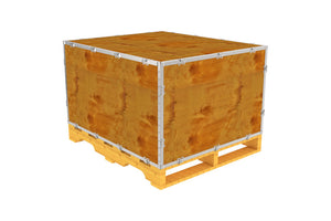 Simple-Lock™ Crate - With Pallet - 41 1/8 x 35 1/8 x 23 1/8