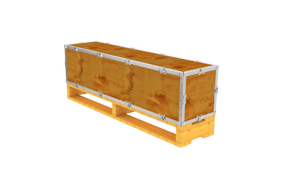 Simple-Lock™ Crate - With Pallet - 47 1/8 x 11 1/8 x 11 1/8