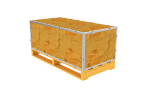 Simple-Lock™ Crate - With Pallet - 47 1/8 x 23 1/8 x 17 1/8