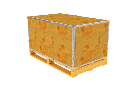 Simple-Lock™ Crate - With Pallet - 47 1/8 x 29 1/8 x 23 1/8