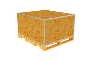 Simple-Lock™ Crate - With Pallet - 47 1/8 x 41 1/8 x 23 1/8